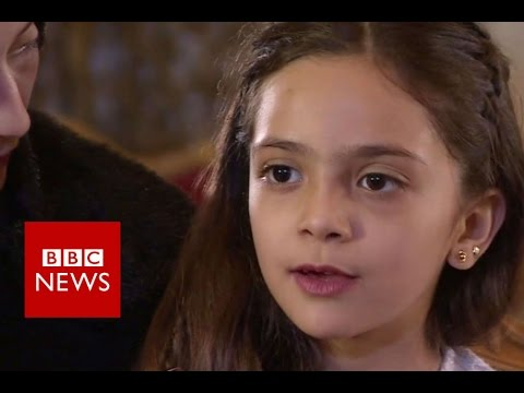Tweeting Aleppo Girl: 'We Nearly Died'  BBC News