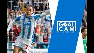 Tom ince scores! goal cam: huddersfield town 1-0 watford