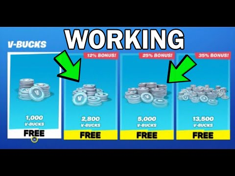 **WORKING** HOW TO GET V BUCKS FREE IN FORTNITE CHAPTER 2 SEASON 2! (PS4/XBOX/PC) VBUCKS GLITCH 2020