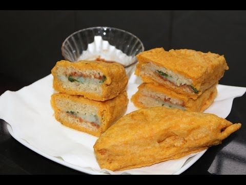 Bread pakoda செய்முறை - Bread pakora recipe in TAMIL - evening snack - How to make