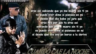 """""""Cuando Cae La Noche"""" con Letra Official HD Franco el Gorila Ft. Cosculluela New 2011"""