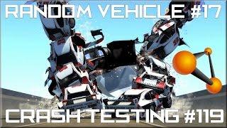 BeamNG Drive Random Vehicle #17 Crash Testing #119