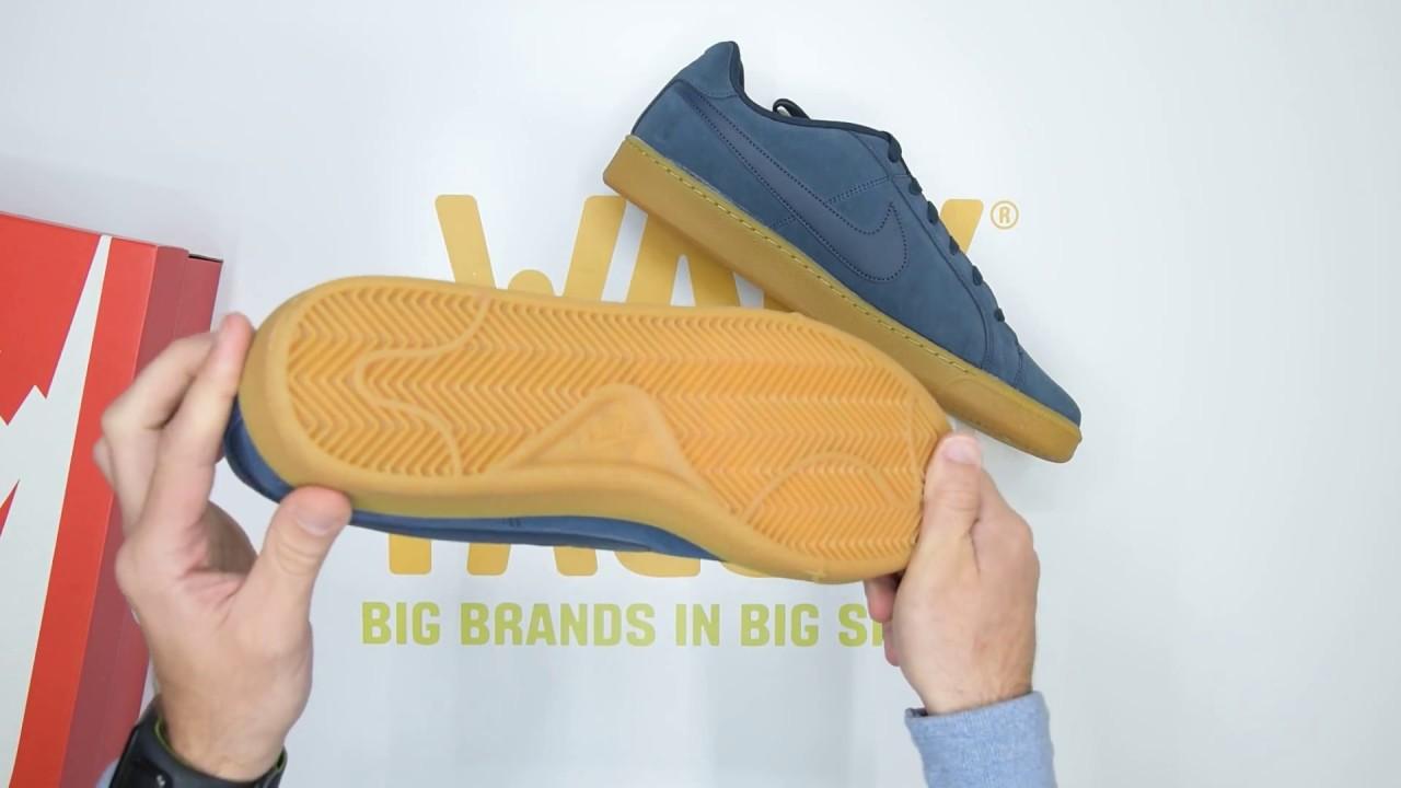 911aadfdbec3 Nike Court Royale Suede - Navy Gum - Unboxing