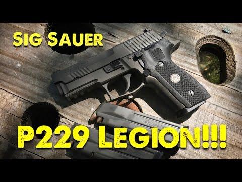Sig Sauer P229 Legion!! - First Range Trip!