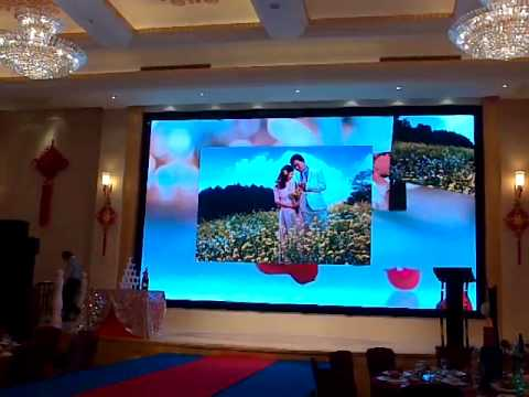 Led Screen Solution For 5 Star Hotel Ideal For Wedding