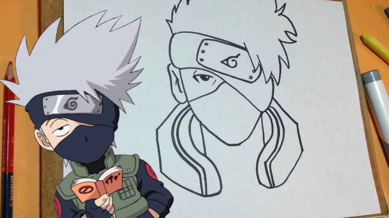 Cómo Dibujar A Kakashi De Naruto