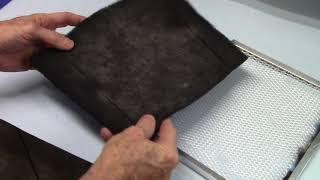 This video shows how to make an economical activated charcoal filter.