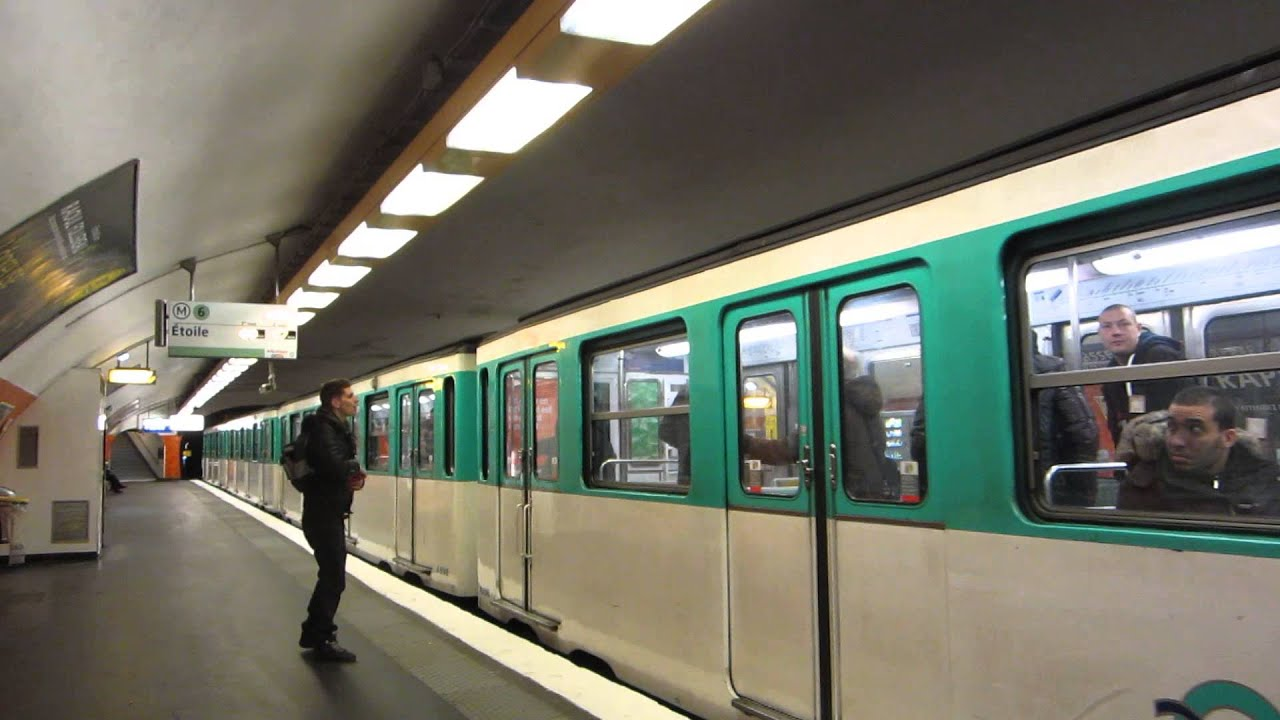 What Is Srs >> [Paris] MP73 Métro 6 - Montparnasse Bienvenüe - YouTube