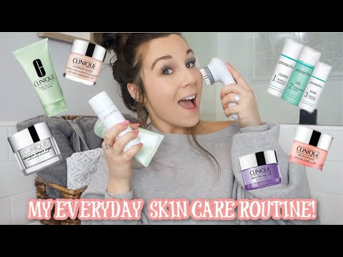 MY EVERYDAY SKIN CARE ROUTINE! / PROACTIV + CLINIQUE