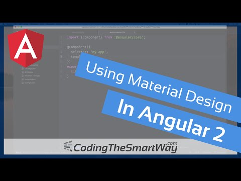 Material Design With Angular 2 Tutorial