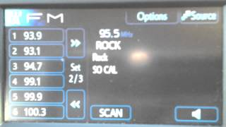 Los Angeles FM Bandscan September 30, 2013 5:45 PM