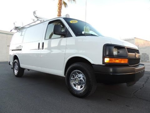 2011 CHEVY 2500 EXPRESS CARGO VAN = 69K Miles, Loaded w/ Thousands in equipment! 186159