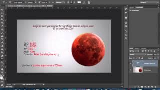 Las mejores configuraciones fotográficas para Eclipse Lunar de 15 de Abril 2014