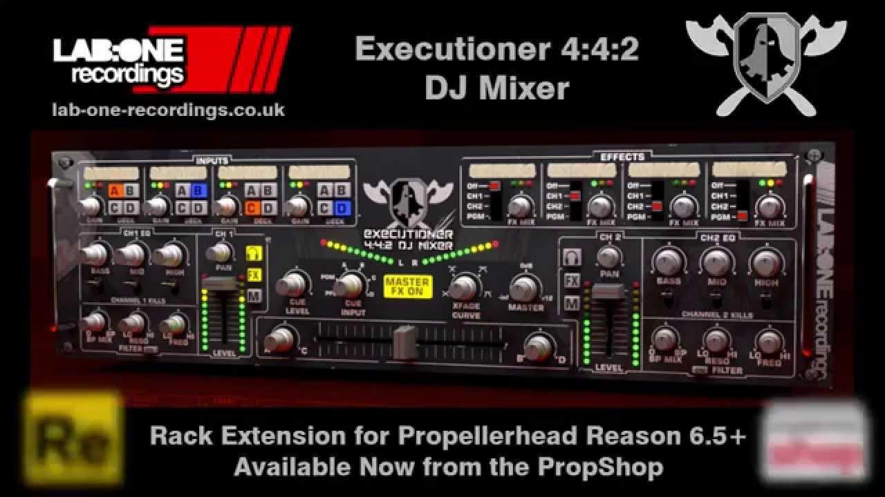 Executioner Dj Mixer   Pro DJ Mixer   Shop   Propellerhead