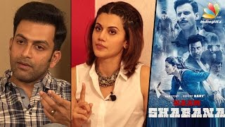 Don't Have To Be A BOY To FIGHT : Taapsee Pannu Interview with Prithviraj & Manoj Bajpayee