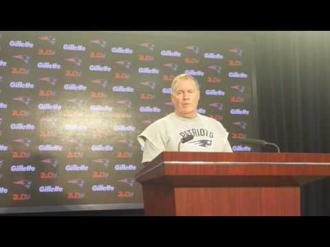 Bill Belichick on Jimmy Garoppolo's health: 'I'm a football coach, not a doctor.'