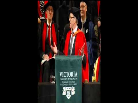 Victoria University of Wellington - Honorary Doctorate, Rob Cameron - Graduation May 2013