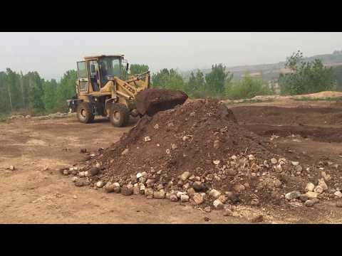 Put Materials in Organic Fertilizer Production Line