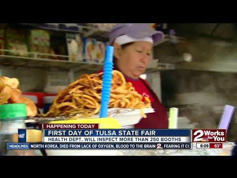 More than 250 food booths to be inspected at Tulsa State Fair