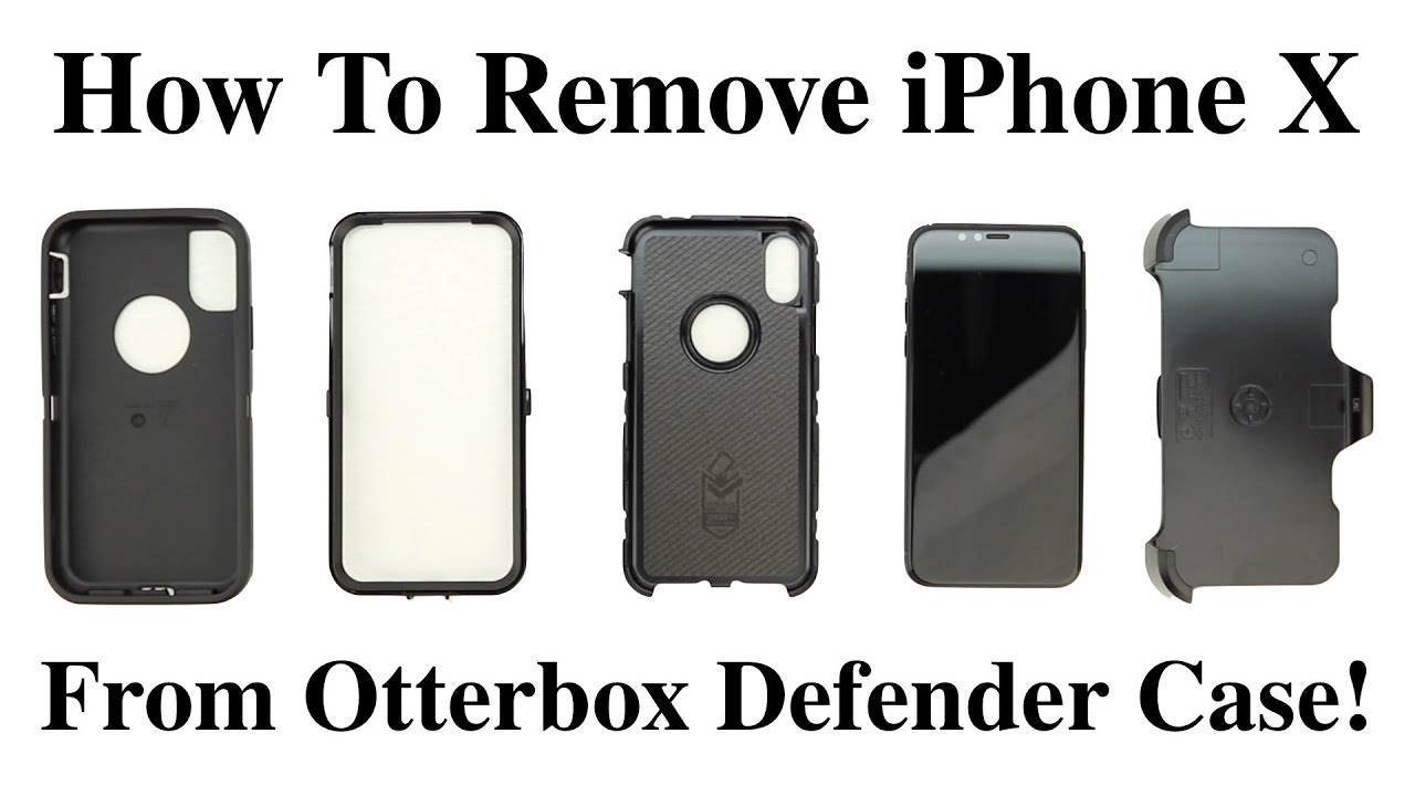 How To Open A Otterbox Case Iphone