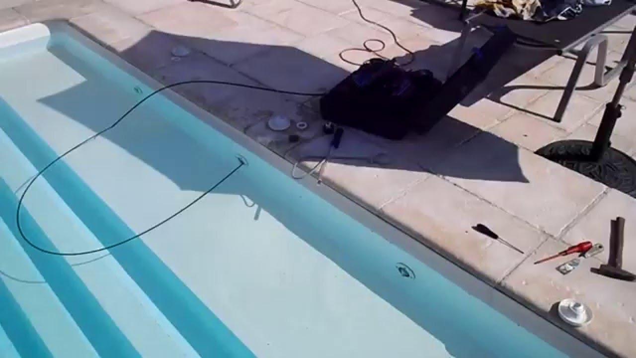Utilisation d 39 une cam ra endoscopique pour localiser une for Fuite d eau piscine