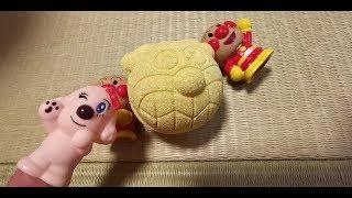 【おもちゃ】あんぱんまんバスボール☆なにがでる☆おはなのかおり・Anpanman Bath Ball Scent of Flower Shiratamasan【Toy】
