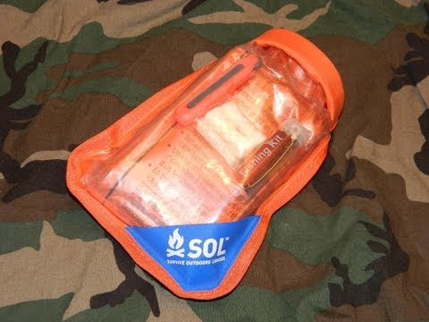 Adventure Medical Kits SOL Scout survival kit review