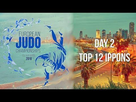 European Judo Championships 2018 Tel Aviv Top 12 ippons of day 2