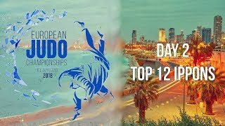 European Judo Championships 2018 Tel Aviv Top 12 ippons of day 2
