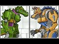 Robot Crocodile + Robot Werewolf - Full Game Play 1080 HD