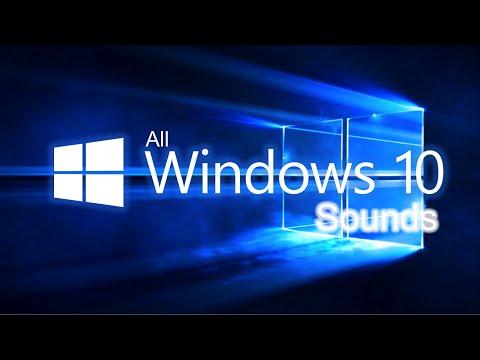 All Windows 10 Sounds