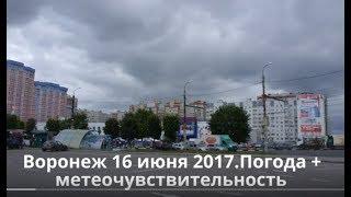 видео Синоптики рассказали о погоде на День города в Воронеже