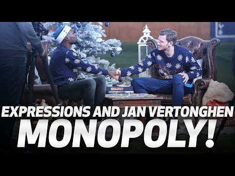SPURS MONOPOLY   Jan Vertonghen and Expressions go head-to-head!
