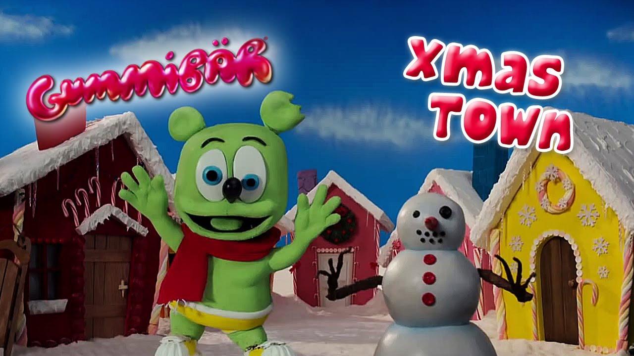 XMAS TOWN Gummibär CLAYMATION CHRISTMAS Video Gummy Bear - YouTube