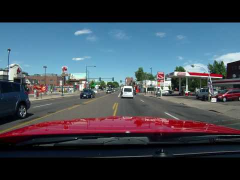 Driving in Denver Colorado