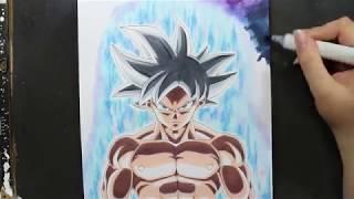Como Desenhar O Goku Ultra Instinct