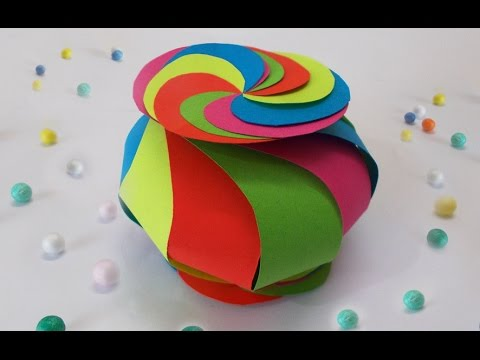 Diy Projects How To Make Cute Twisted Paper Box Easy Diy Crafts