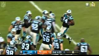 Peyton Manning Interception Super Bowl 50