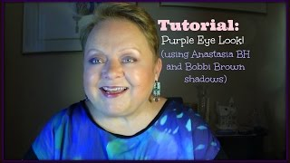 TUTORIAL: Purple Eye Look (Anastasia BH/Bobbi Brown) Thumbnail