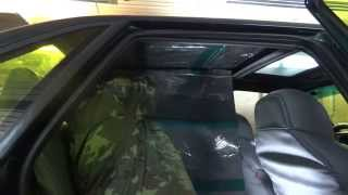 видео Шумоизоляция крыши Лада Калина