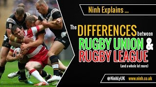 The Difference between Rugby Union & Rugby League - EXPLAINED!