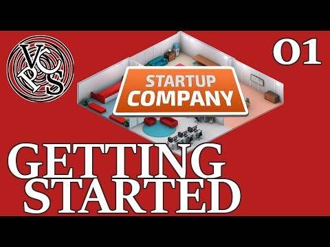 Getting Started : Startup Company EP01 - Alpha 11 Software Developer Business Tycoon Gameplay