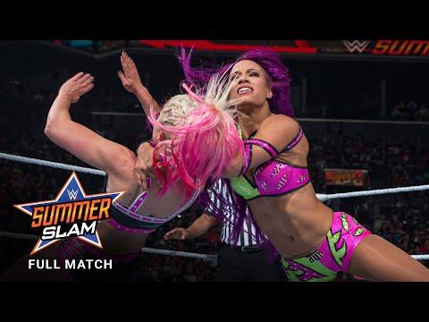 FULL MATCH - Alexa Bliss vs. Sasha Banks - Raw Women's Title Match: SummerSlam 2017