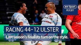 Racing 92 vs Ulster (44-12) Heineken Champions Cup Highlights