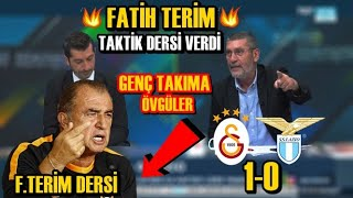 \Fatih Terim Taktik Dersi Verdi \ l Galatasaray 1-0 Lazio l Cem Dizdar l GALATASARAY