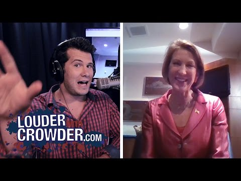 Carly Fiorina Uncensored on #SJW Feminism and Weak Leaders | Louder With Crowder
