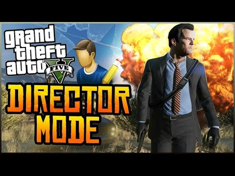 GTA 5 Online Director Mode & Rockstar Editor How To USE Tutorial (PS4 & XBOX ONE)