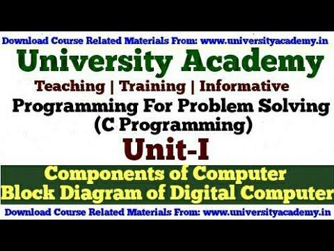 L4programming for problem solvingcomponents of computerblock computercomponents digitalcomputer ccuart Choice Image