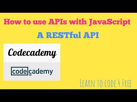 A RESTful API