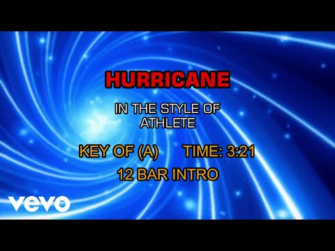 Athlete - Hurricane (Karaoke)